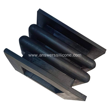 Edge Welded Silicone Rubber Expansion Joint Dust Bellow
