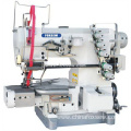 Cylinder Bed Interlock Sewing Machine for Elastic Lace Attaching