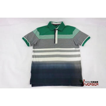 Men's YD Stripe Jersey With Dip-Dye