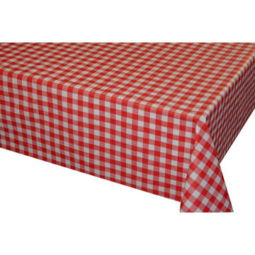 Rectangle Wipe Clean Table Cover Waterproof Stain