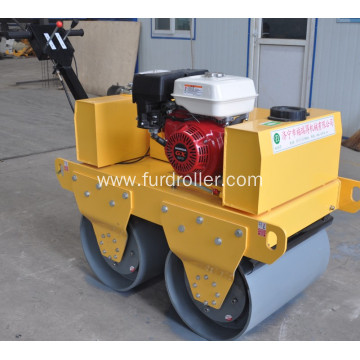 Double Wheel Mini Vibratory Roller Compactor