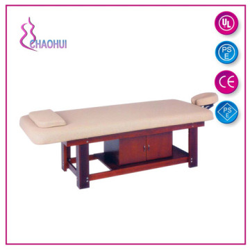 Solid Wooden Facial Massage Bed Foldable