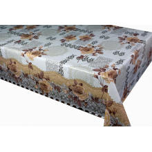 Elegant Tablecloth with Non woven backing Sheet 3d