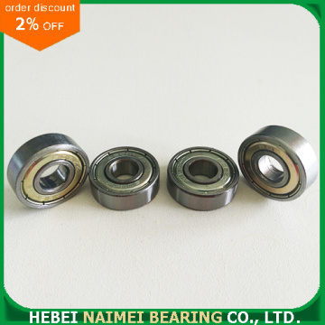626ZZ 6mmx19mmx6mm Shielded Radial Deep Groove Ball Bearing