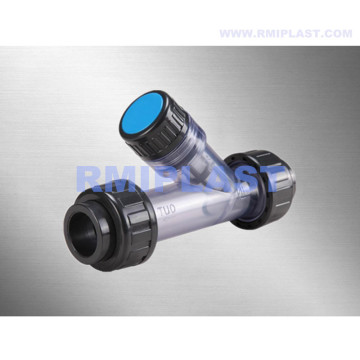PPH Strainer Y Type Socket DIN PN10