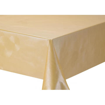 Solid Embossed Fabric Tablecloth Patio Table Covers