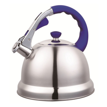3.5L Household Purple Handle Whistling Kettle