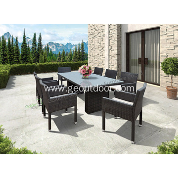 9-Piece Wicker Outdoor Patio Dining Set