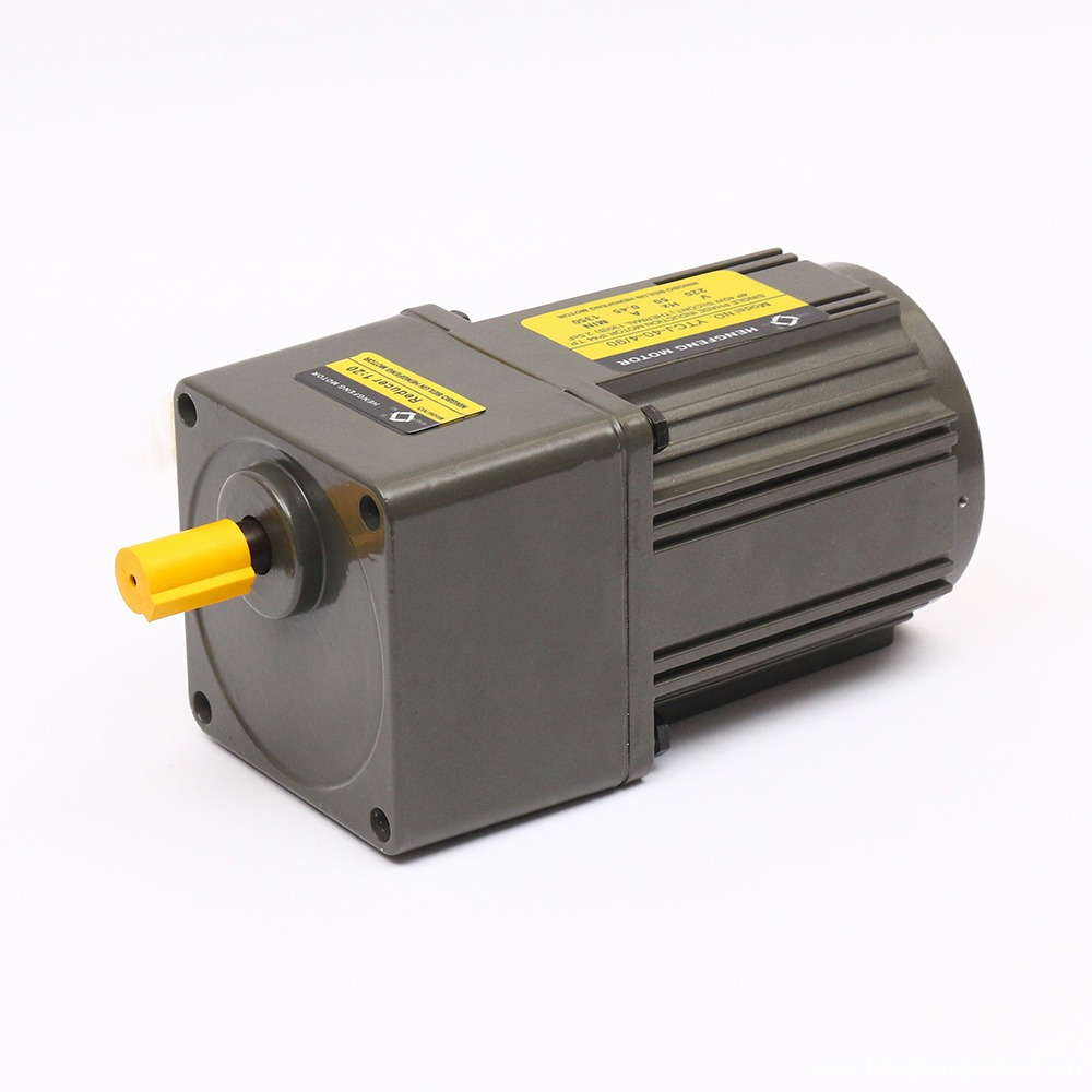 Low Speed 110V/220V 90mm Reversible AC Gear Motor