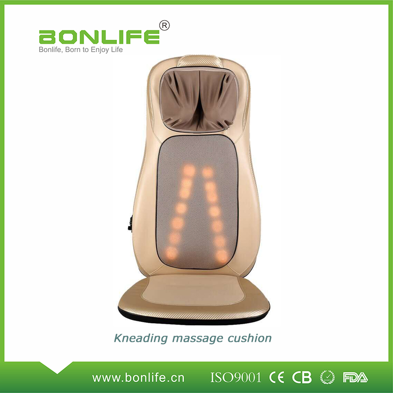 Kneading massage cushion with heating