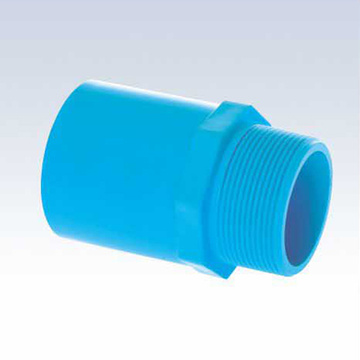 UPVC JIS K-6743 Pressure Male Adaptor Blue Color