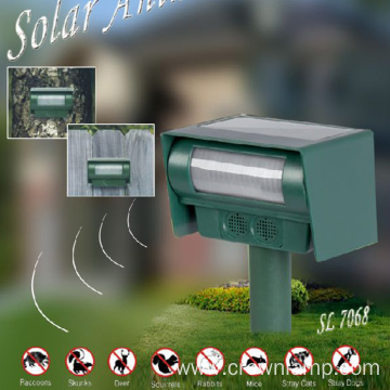 Solar Powered Ultrasonic Animal Pest Repeller