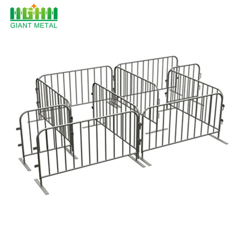 Galvanized Temporary Crowd Control Barrier For Sale