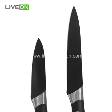 3 pcs Stainless Steel Black Oxide Knife Set