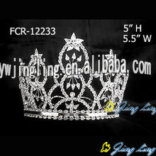 Crown Rhinestone Beauty Pageant full round Tiara