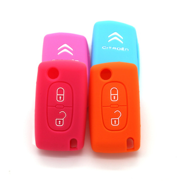 Nice Colors soft rubber car key cover online