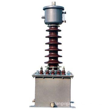 Oil-immersed voltage transformer