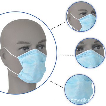 3-Ply Safety Face Mask for Personal Health