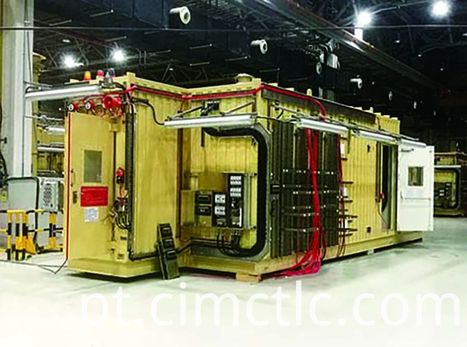 Pressurized Mud Logging Cabin