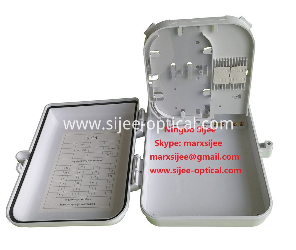 16 port Fiber Optic Cable Junction Box