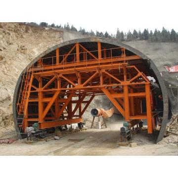 Railway Tunnel Lining Trolley Formwork System