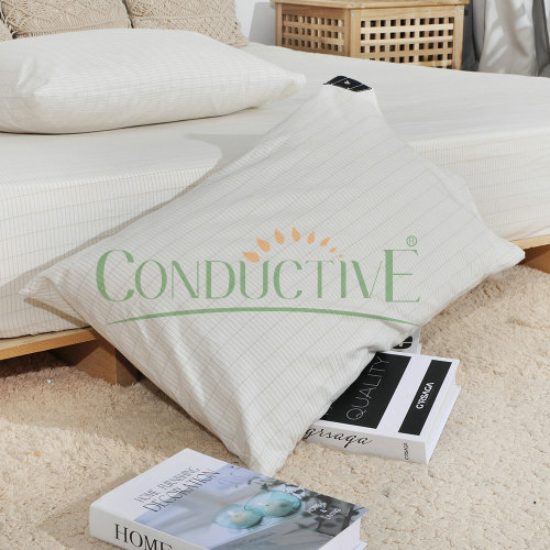 Grounding Pillowcase Organic Cotton Silver Fiber