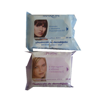 Biodegradable Gently Cosmetic Refreshing and Premium Wipes