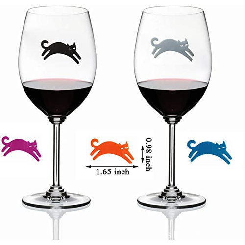 Silicone Drink Markers Wine Charms Wine Glass identifier
