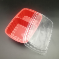 Custom small red blister packaging wholesale sushi tray