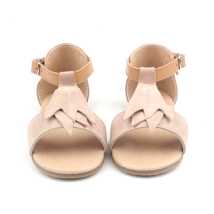 Unique Maple Leaf Design Kids Girls Sandals