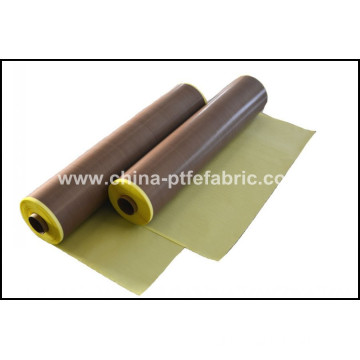 PTFE Coated Fiberglass Fabric Self Adhesive  0.25T