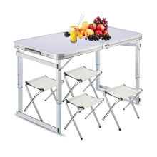 Aluminum Lightweight Portable folding Table and chairs