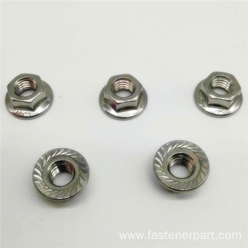 Hexagon Nylon Hex Special Flange Lock Nut