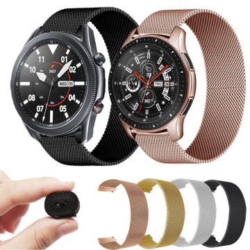 Strap For Samsung Galaxy Watch3 41 45mm Stainless steel Metal Bracelet For Garmin Vivomove3S 4S 3 4 Smart Watch Band Accessories