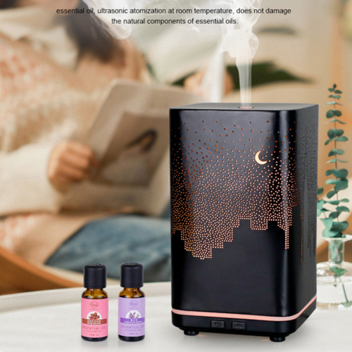 120ml Warm Lamp Personal Desk Humidifier and Purifier