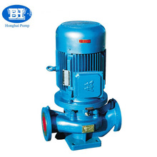 vertical pipeline centrifugal electric 7.5hp water pump