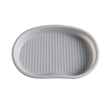 white PS sterile medical implant kidney tray
