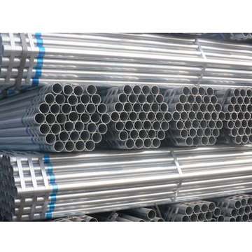 hs code hot dip round galvanized steel pipe