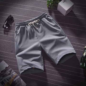 Men's casual lace-up shorts