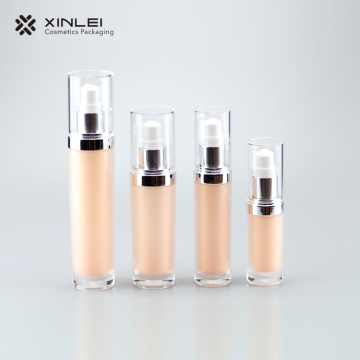 30 ml Pearl white plastic bottles