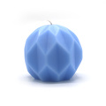 Ice blue color  aromatherapy candle