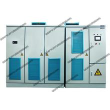 Dual quadrant medium voltage VFD