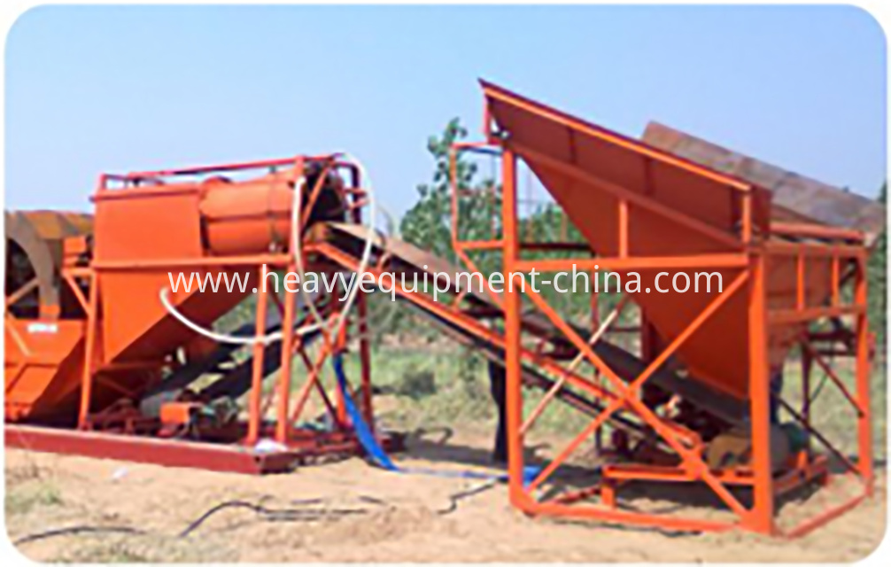 Integrated Sand Washing Machine