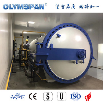 ASME standard small carbon fiber material curing autoclave