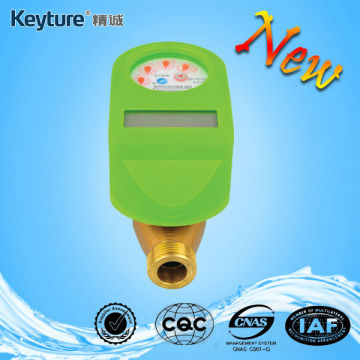 Green Color Brass IC Card Water Meter