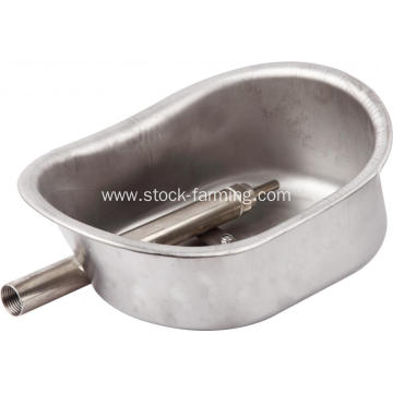 Stainless steel pig drinker water bowl