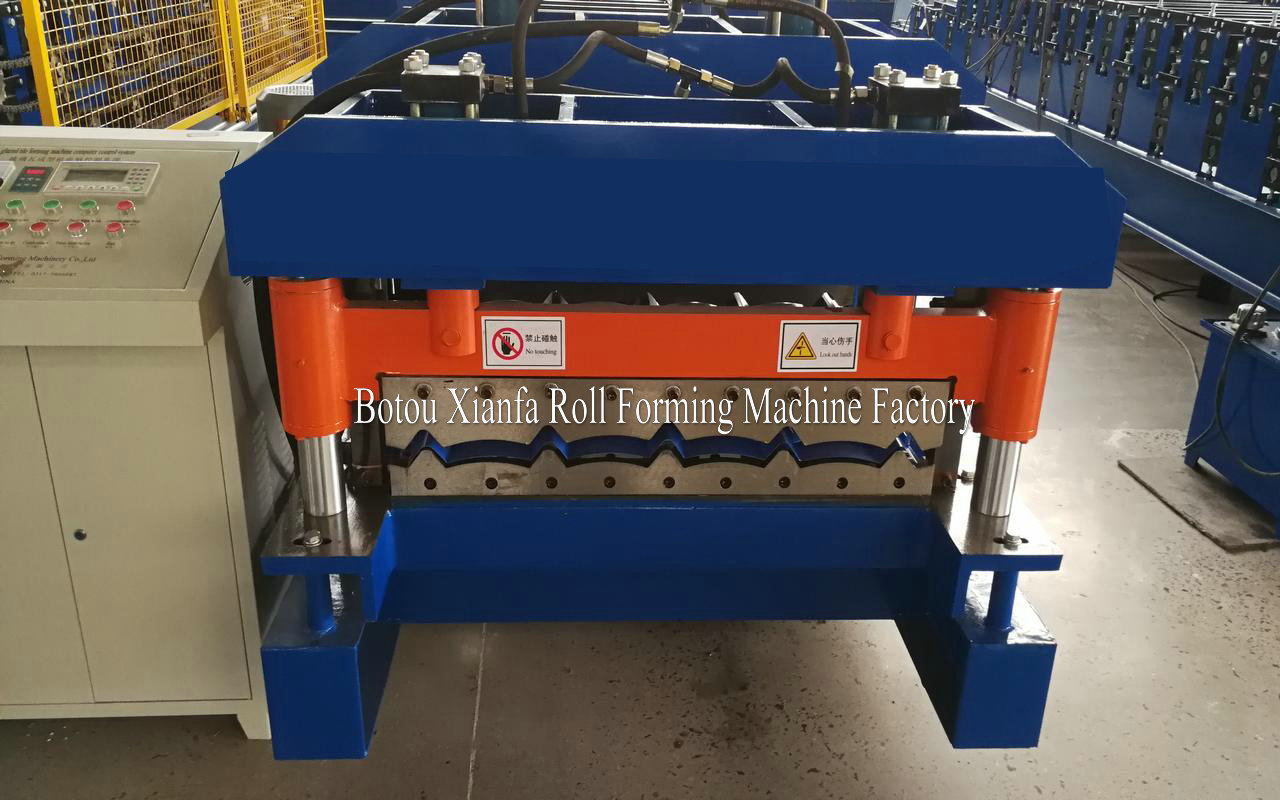 Glazed Roof Making Machine