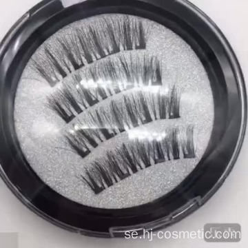 3D Private Label Magic 4 Magnetic Eyelashes leverantör