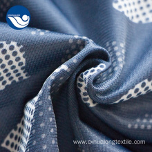 Military Blue Camouflage Printed Polyester Cloth Fabric
