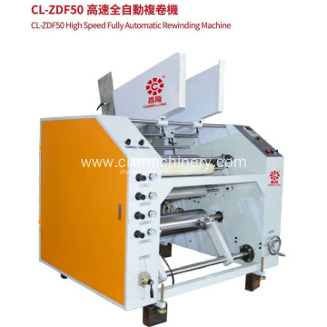 CL-ZDF50 High Speed Fully Automatic Rewinding Machine